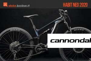 Una nuova gamma di eMTB Cannondale per il 2020: Habit Neo