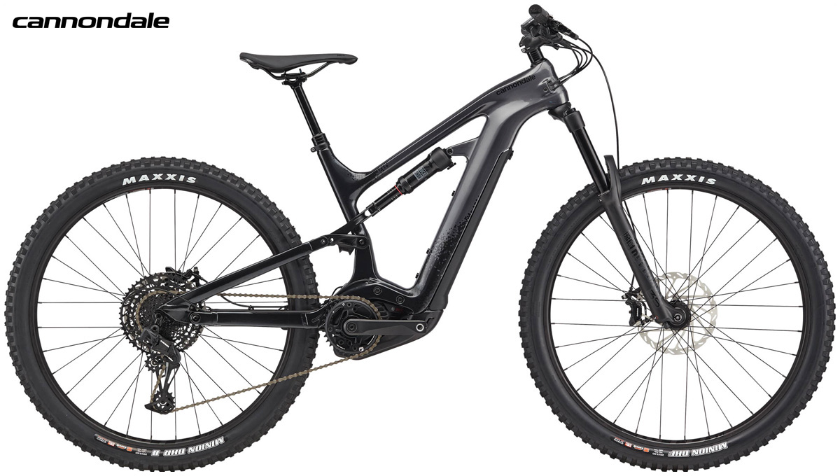 Una mountain bike a pedalata assistita Cannondale Moterra 3 gamma 2020