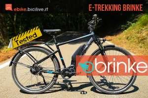 Test ebike Brinke Rushmore Evo Di2 Sport: comfort e sicurezza