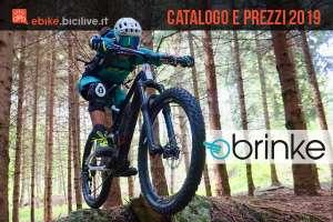 Catalogo e listino prezzi 2019 ebike Brinke