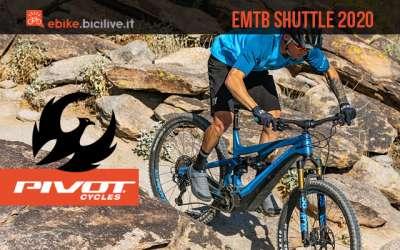 Pivot Shuttle 2020 e-mtb leggera da trail