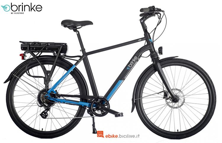 Una e-bike Brinke Life Sport gamma 2019