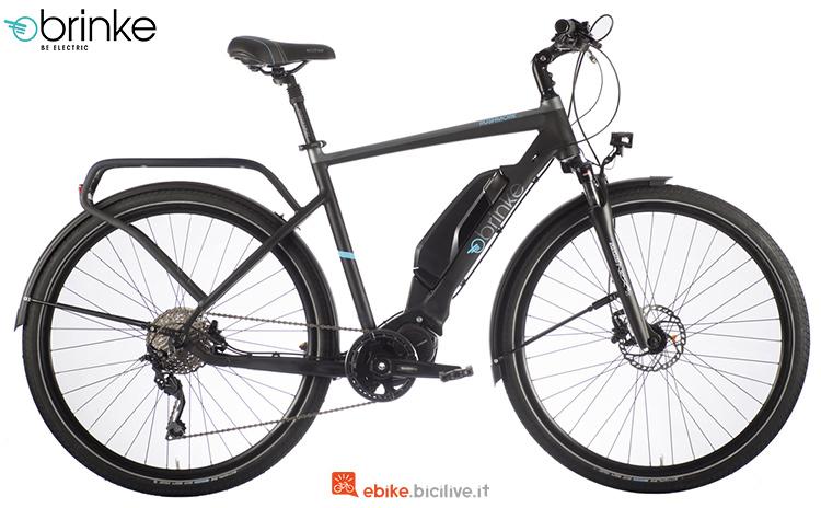 Una bicicletta a pedalata assistita Brinke Rushmore Evo Deore Sport