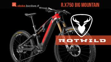 Mountain bike elettrica Rotwild R.X750 2020