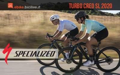 Specialized Turbo Creo SL 2020: e-bike da strada e gravel