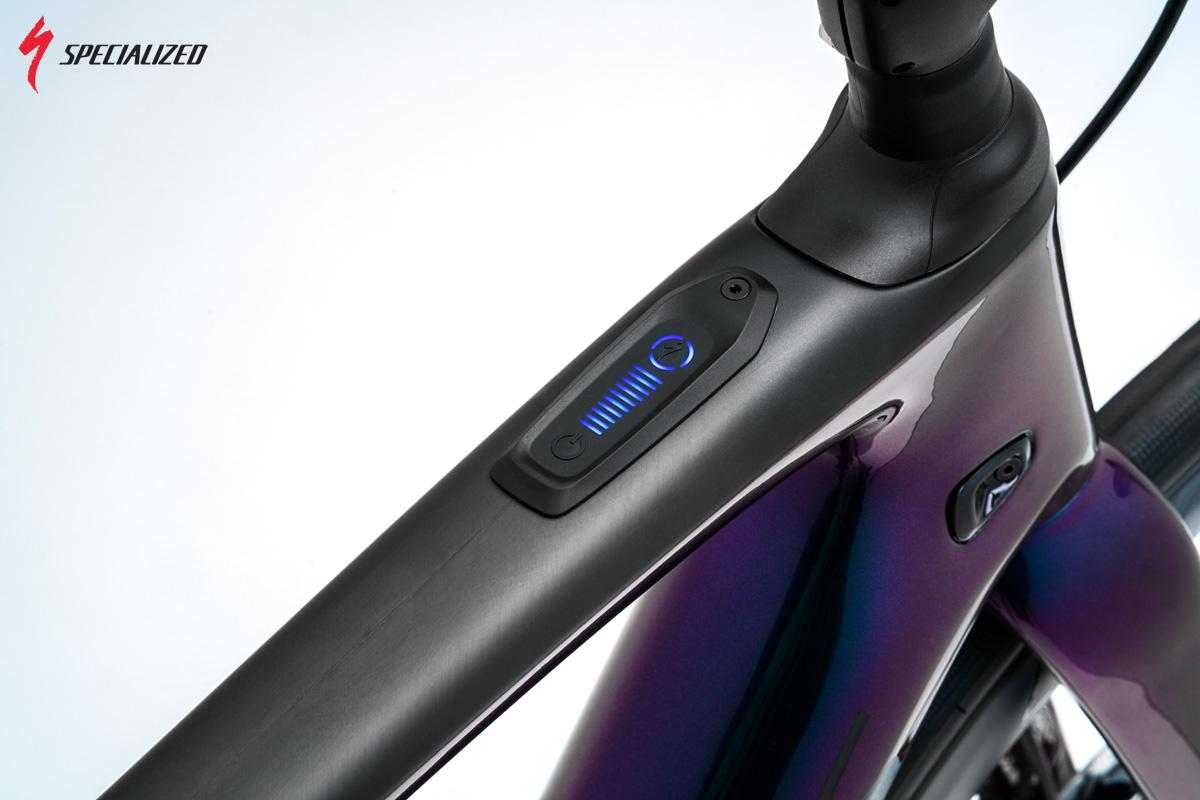 Un dettagli della ebike di alta qualità Turbo Creo SL anno 2020