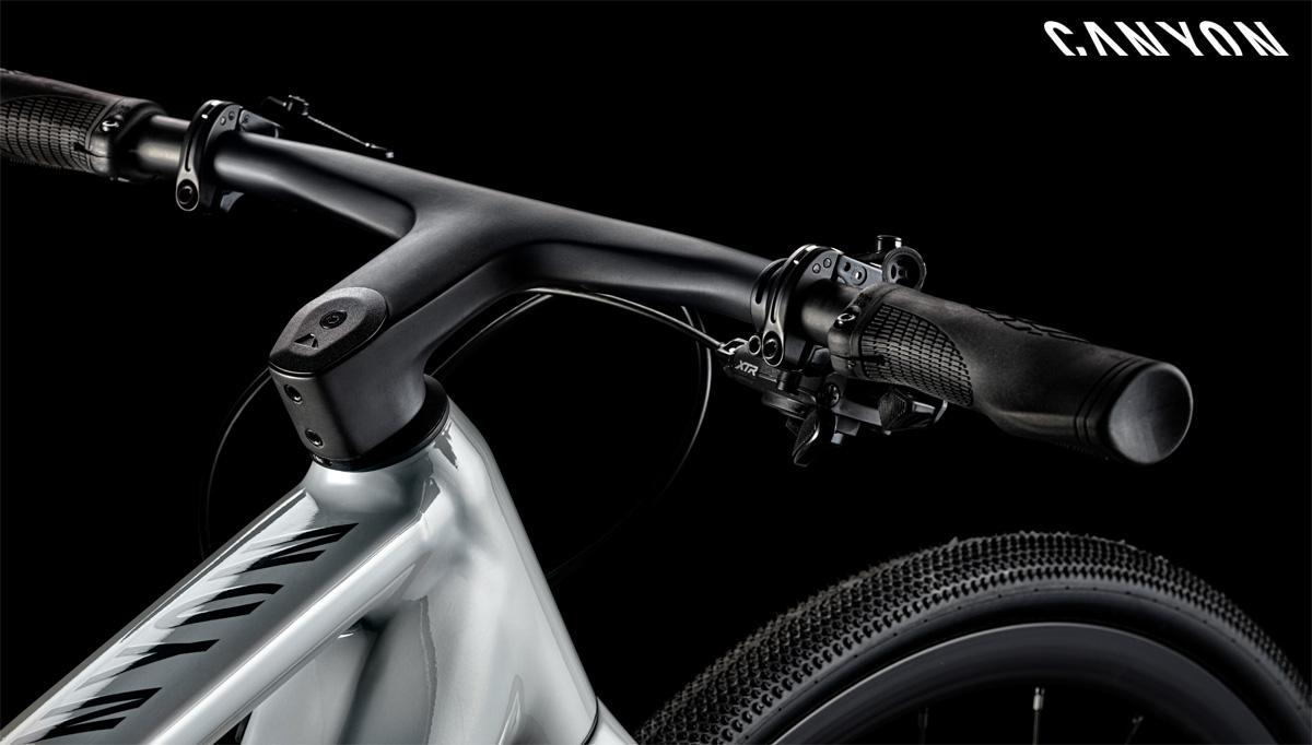 Il cockpit della e-bike Roadlite:ON 9.0 di Canyon