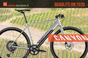 Canyon Roadlite:ON 2020: ebike per il fitness