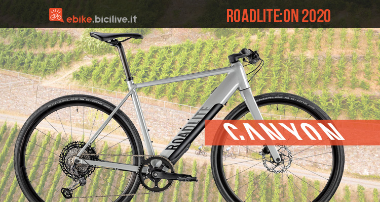 Canyon Roadlite:ON 2020: ebike per il fitness