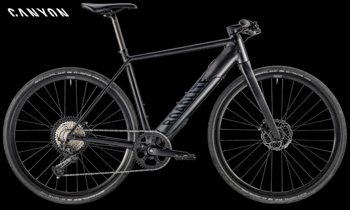 Una ebike a pedalata assistita Canyon Roadlite:ON 8.0 anno 2020