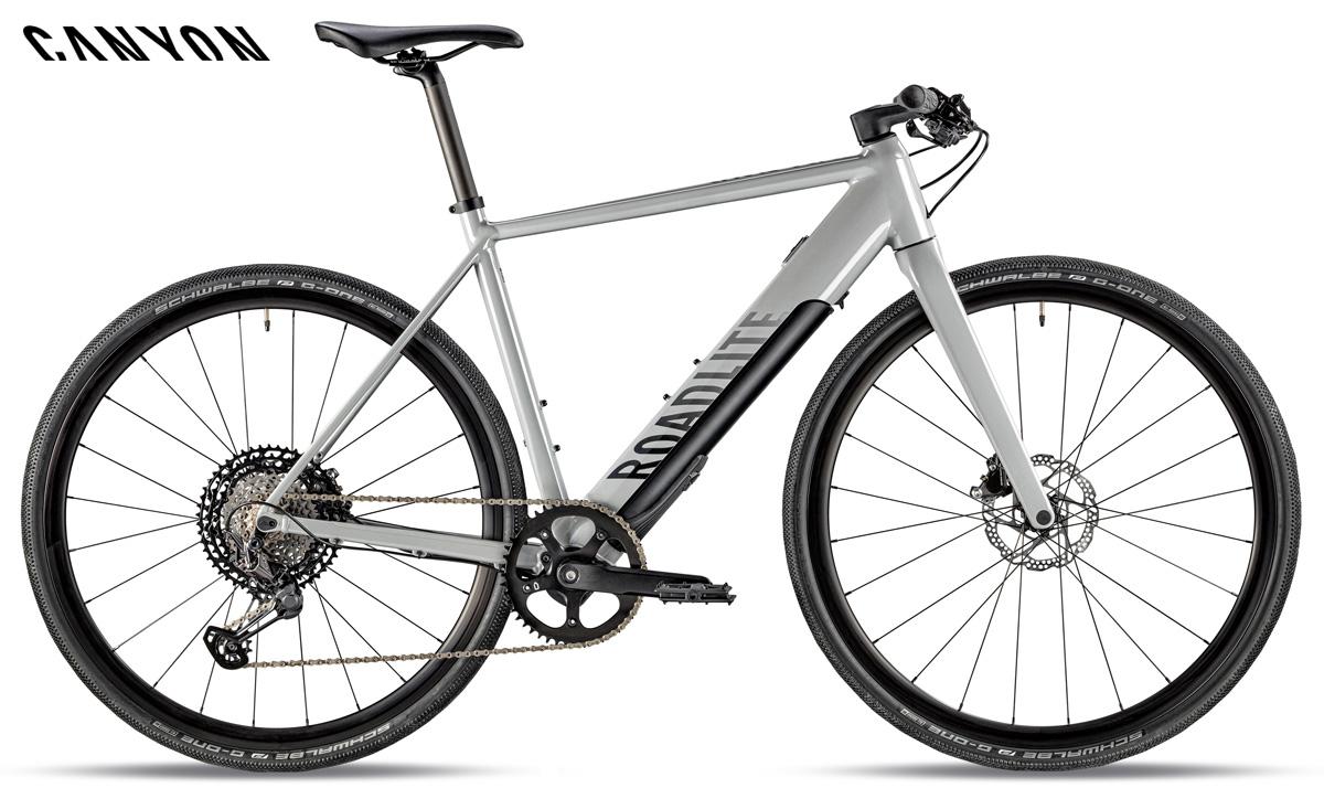 La bici a pedalata assistita da eFitness Roadlite:ON 9.0 di Canyon