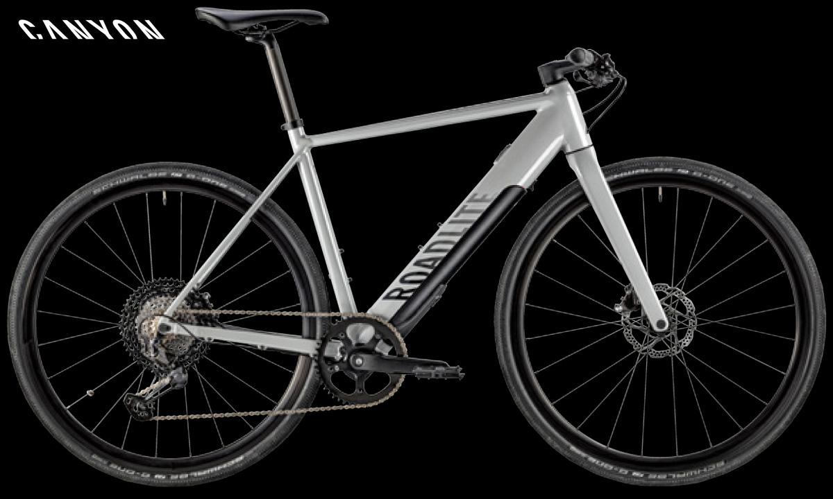 La bici elettrica da fitness Canyon Roadlite:ON 9.0
