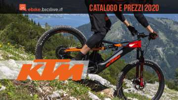 Le e-bike e le e-MTB 2020 di KTM: catalogo e listino prezzi