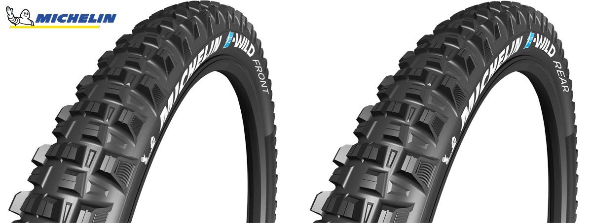 Pneumatici per e-MTB Michelin E-Wild Front e Rear