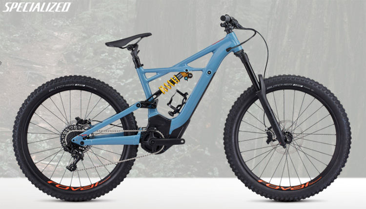 Una e-MTB da downhill Specialized Turbo Kenevo Expert