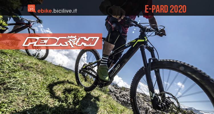 """Pedroni E-Pard 2020: eMTB 29"""" enduro con motore Polini"""