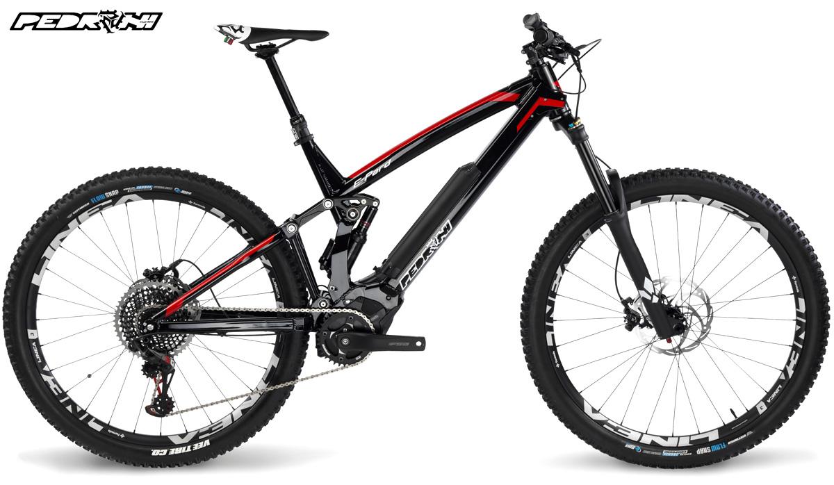 Una mountain bike a pedalata assistita Pedroni E-Pard Pro 2020