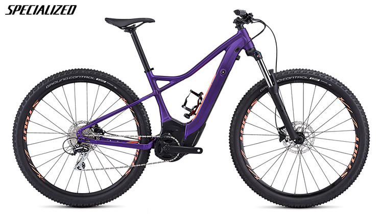 Una eMTB con geometrie femminili Specialized Turbo Levo Hardtail 29 Donna