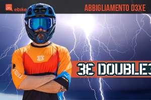 D3xE: l'abbigliamento specifico per e-MTB di Double3