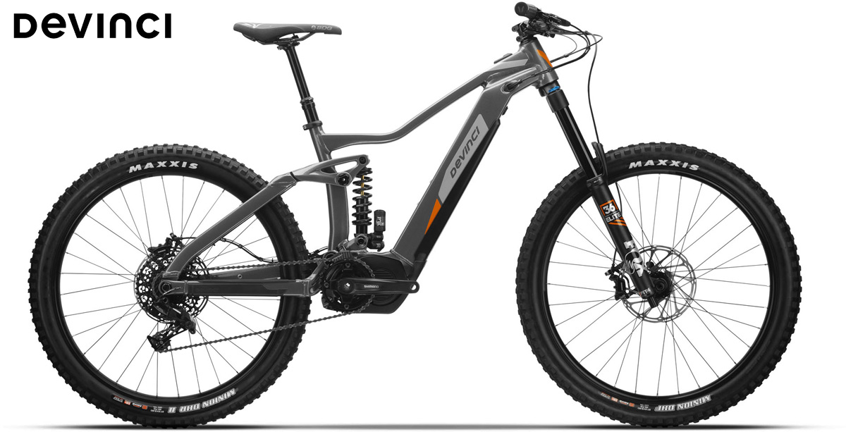 Una mtb a pedalata assistita Devinci AC NX 11s gamma 2020