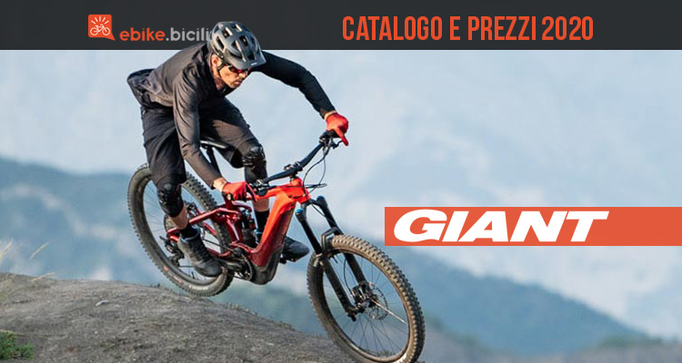 Tutte le ebike Giant 2020: catalogo e listino prezzi