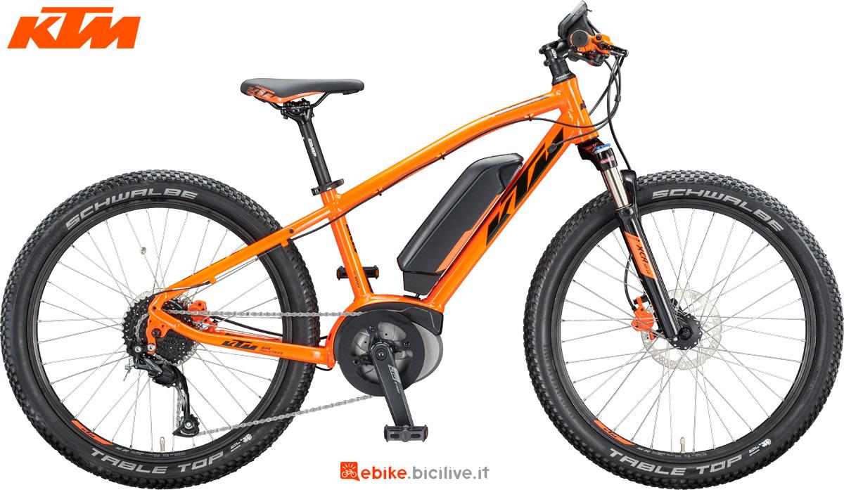 Una e-bike per bambini KTM Macina Mini Me 241