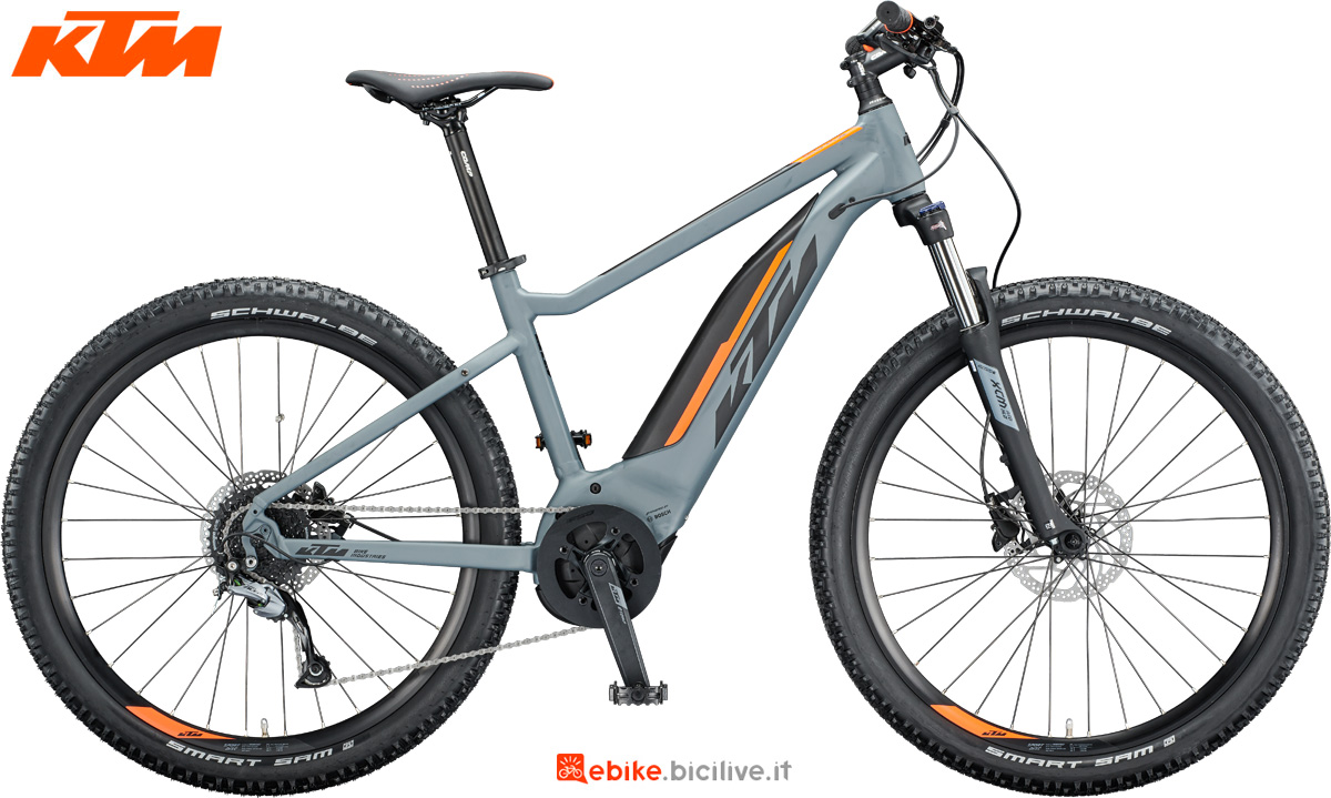 Una e-bike KTM Macina Ride 271 dal catalogo 2020