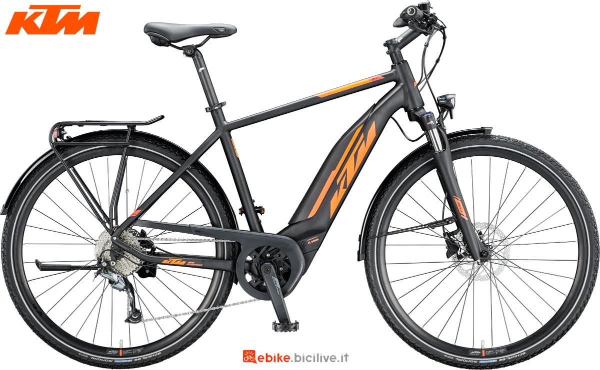 La versione da uomo della bicicletta a pedalata assistita KTM Macina Sport 520