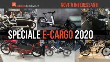 Speciale: le nuove cargo bike elettriche 2020