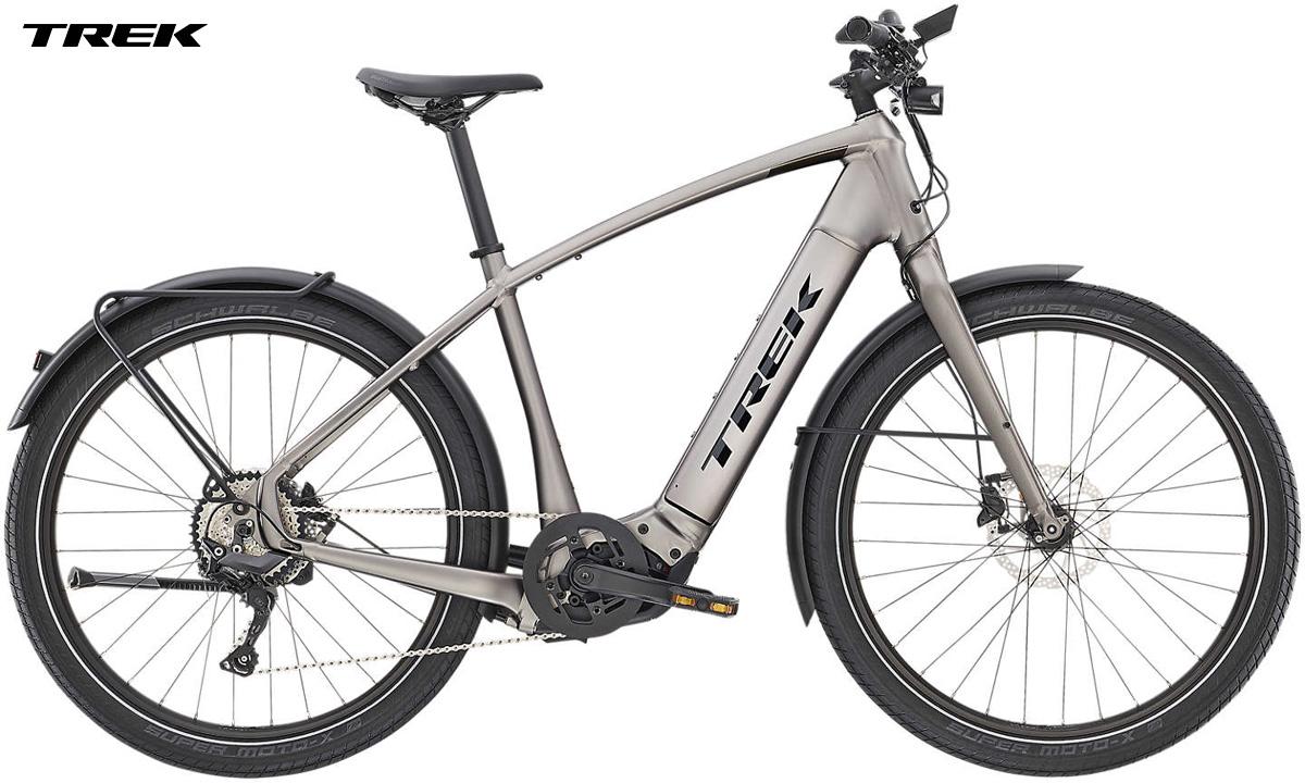 Una bicicletta a pedalata assistita Trek Allant+ 8