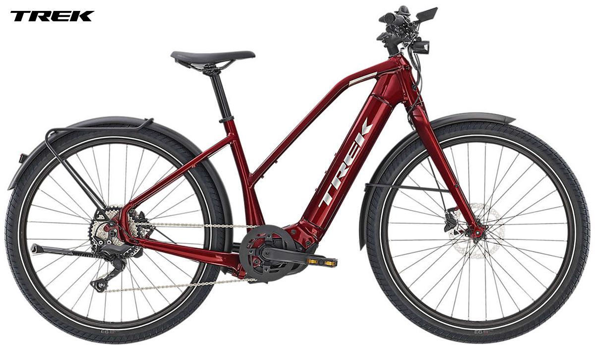 Una ebike a pedalata assistita Trek Allant+ 8 Stagger catalogo 2020
