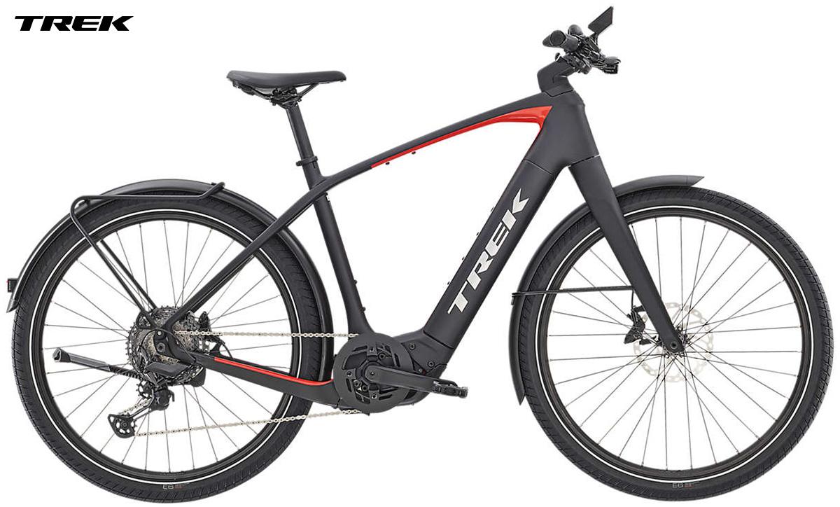 Una bici elettrica a pedalata assistita Trek Allant+ 9.9 anno 2020