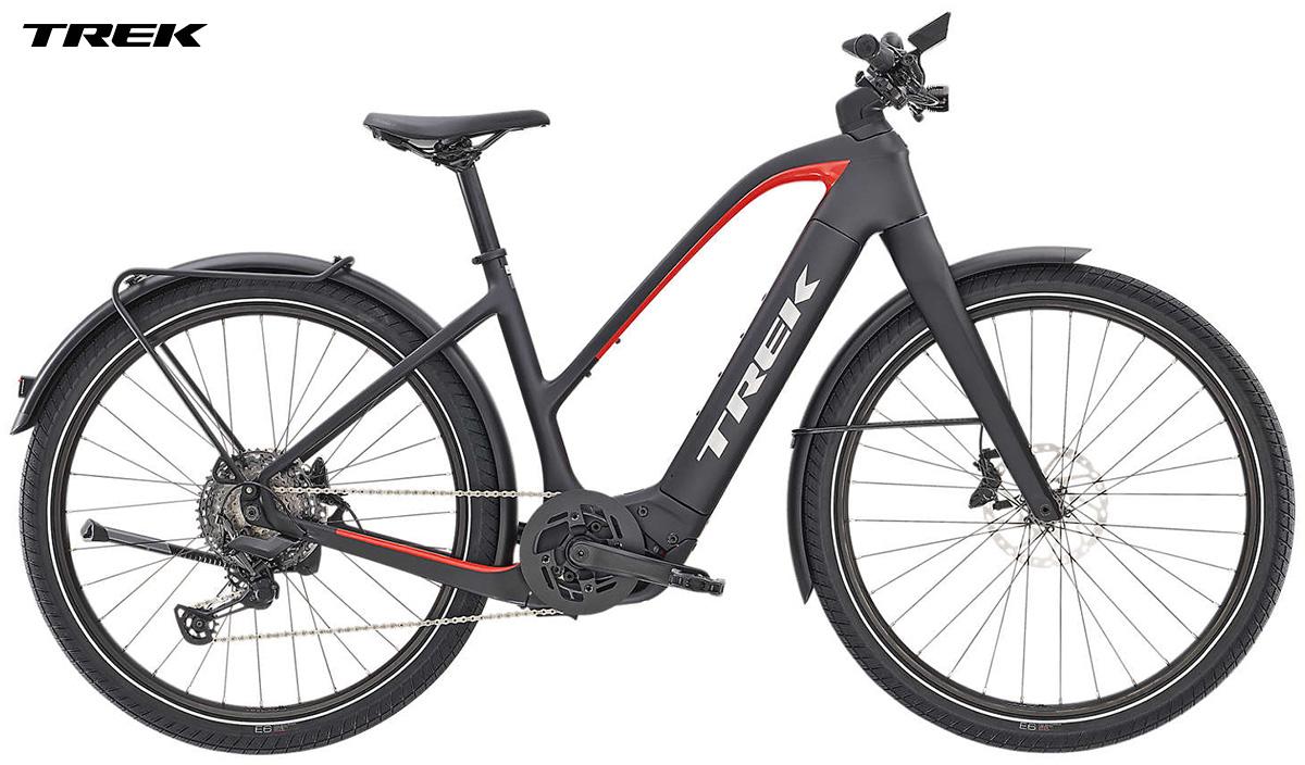Una e-bike Trek Allant+ 9.9 Stagger gamma 2020