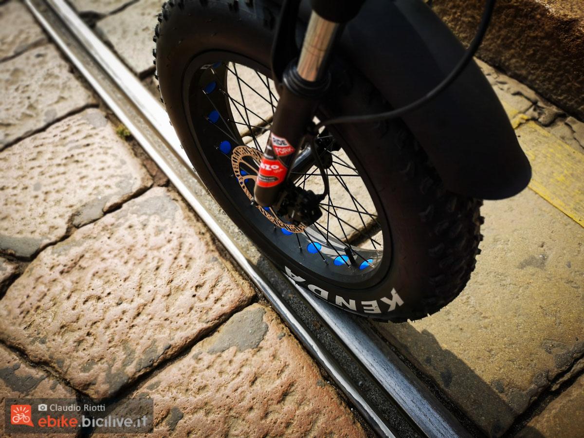 foto della ruota della bi max