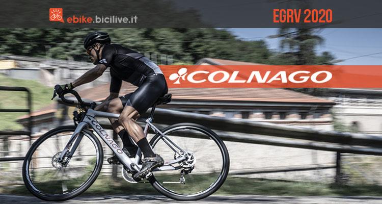 La bici eGRV 2020 è la novità gravel di Colnago 2020