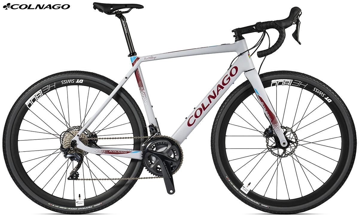 La bici ebike di Colnago eGRV GRX810 2020
