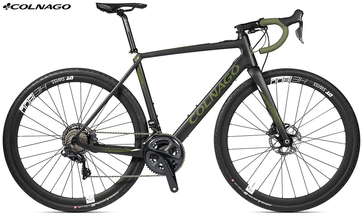 La bici ebike di Colnago eGRV GRX815 2020