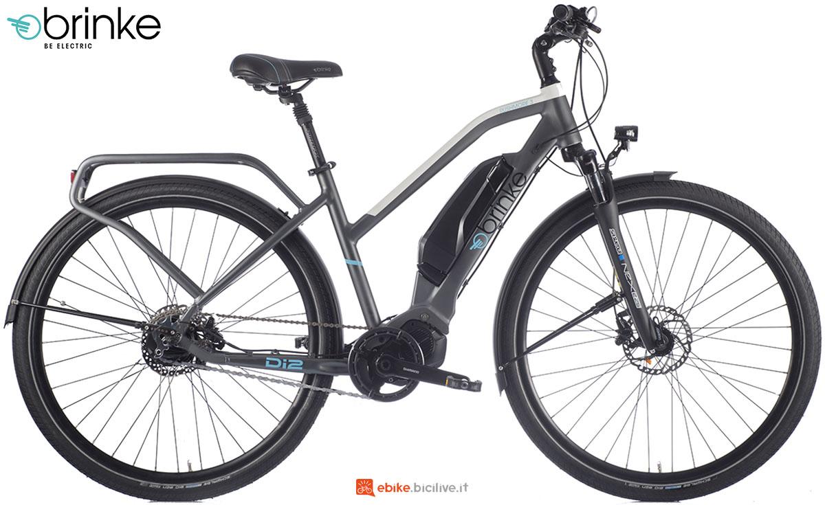 Una e-bike Brinke Rushmore Evo Di2 Comfort