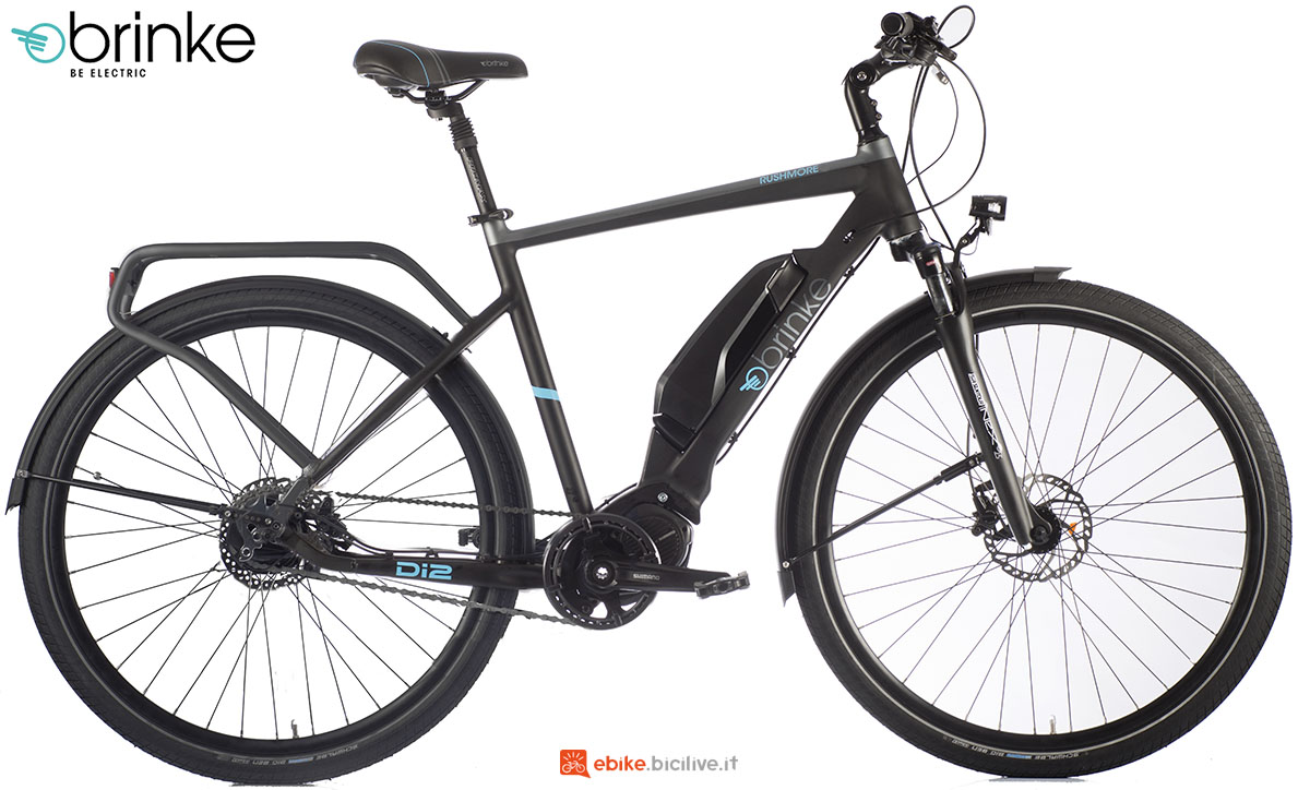 Una bicicletta elettrica Brinke Rushmore Evo Di2 Sport