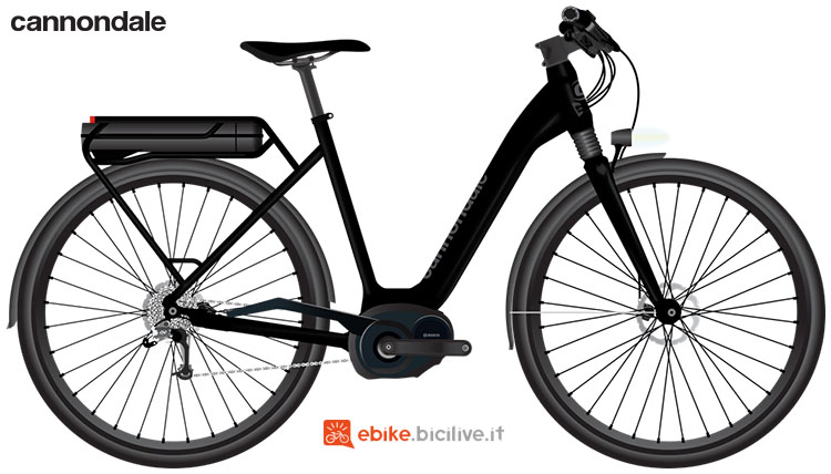 Una e-bike urban Cannondale Mavaro Active 2020