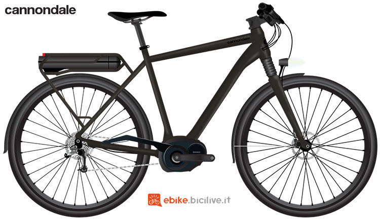 Una ebike urban Cannondale Mavaro Performance