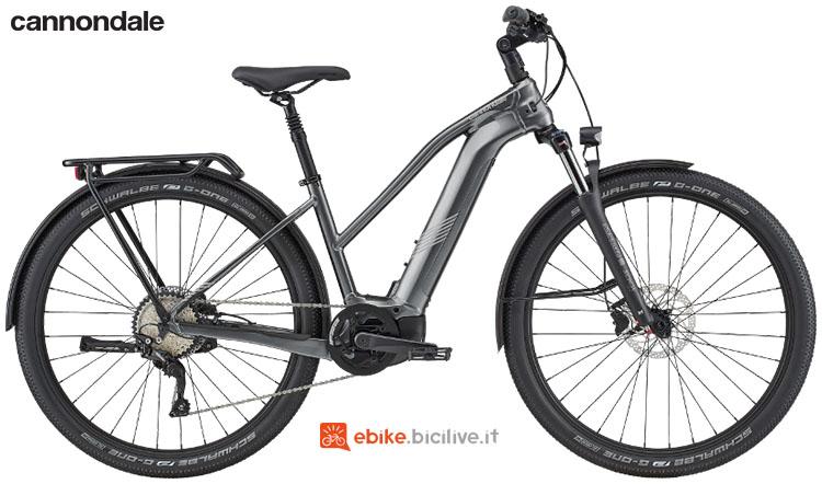 Una bici a pedalata assistita Cannondale Tesoro Neo X 2 Remixte dal catalogo 2020