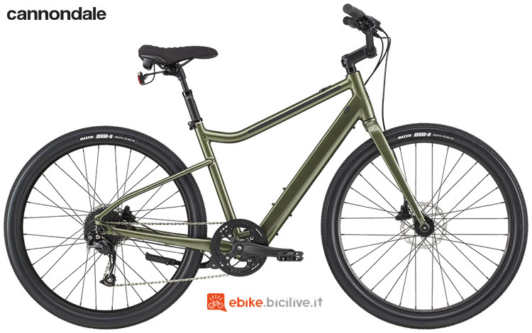 Una bicicletta elettrica Cannondale Treadwell Neo