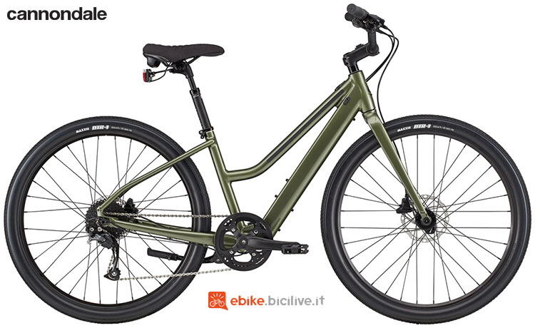 Una e-bike a pedalata assistita Cannondale Treadwell Neo Remixte anno 2020
