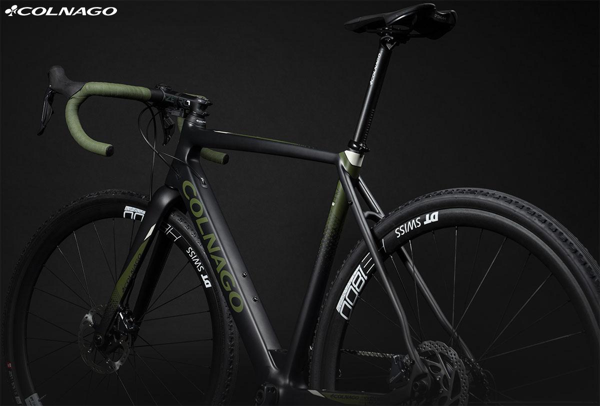 La bici ebike di Colnago eGRV 2020
