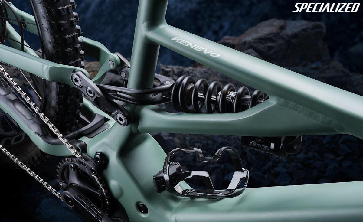 Una nuova mountainbike Specialized Turbo Kenevo 2020 con nuovo sistema di sospensione