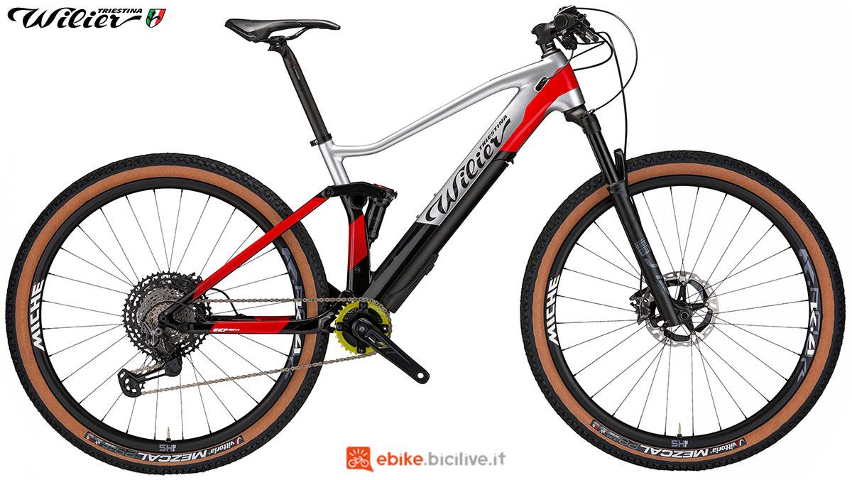 La bici emtb Wilier Triestina 101FX Hybrid 2020