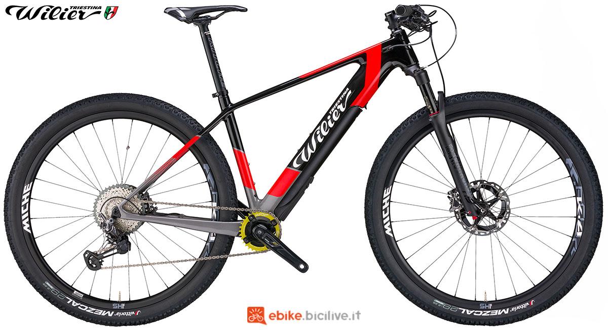 La bici emtb Wilier Triestina 101X Hybrid 2020