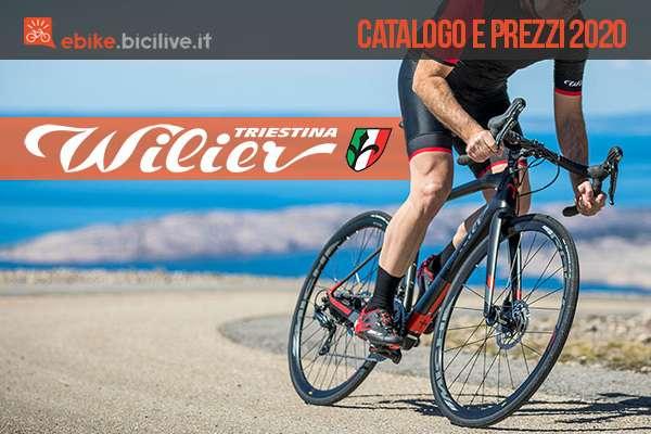 Wilier Triestina: il catalogo delle E-Bike 2020