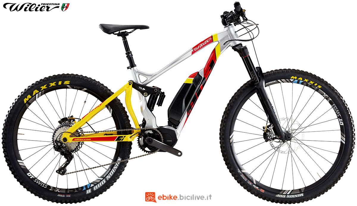 La bici emtb E803Enduro Wilier Triestina 2020